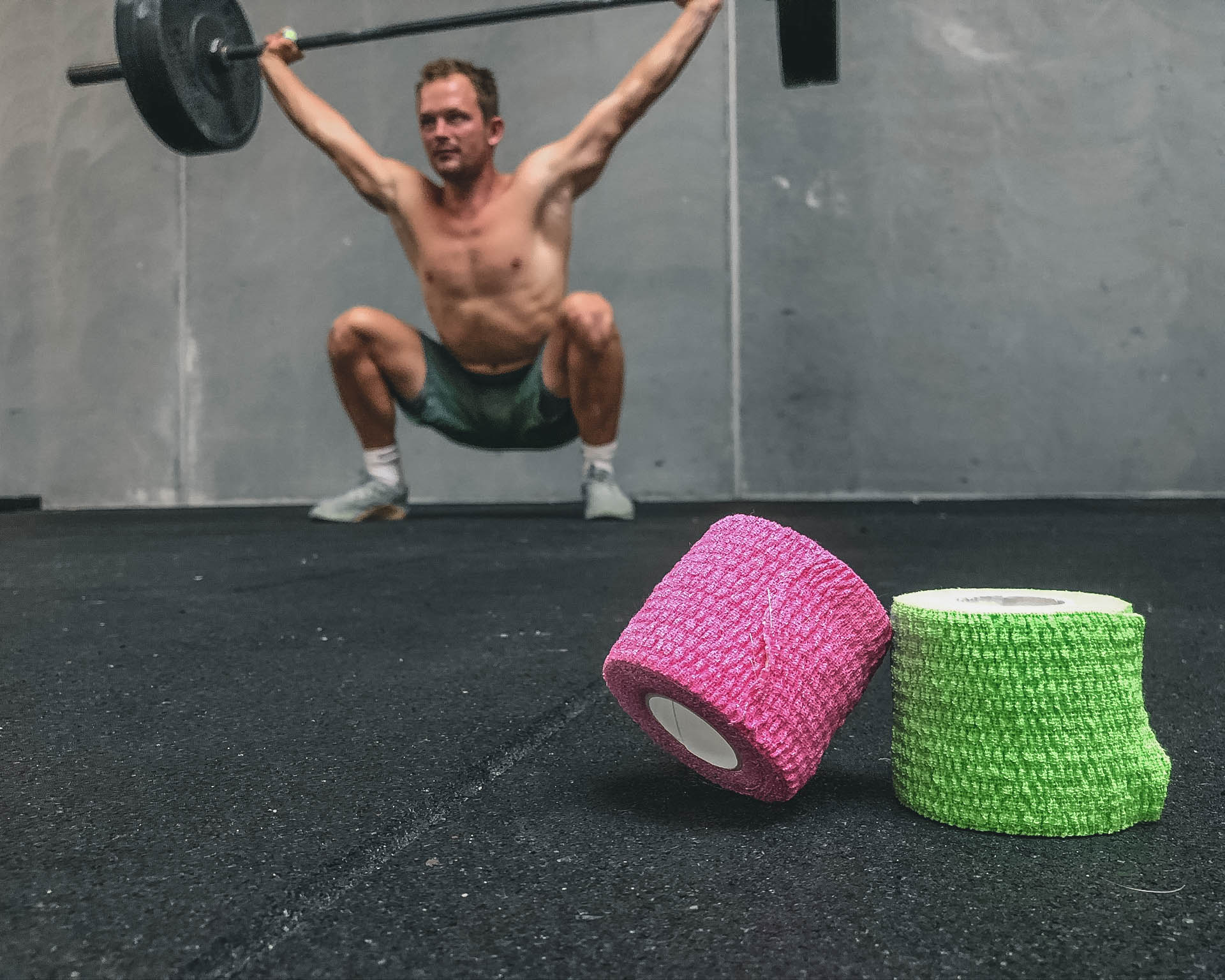 sportstape til vægtløftning